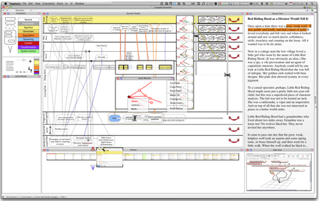 A screenshot of a workstation modeling tool